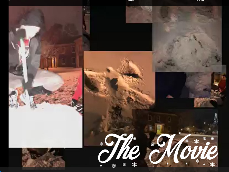 Building a snowman - The movie