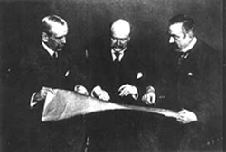 Picture of The architectural firm of Charles McKim, William Mead, and Stanford White McKim, Mead, and White was one of the most prominent architectural firms in the United States at the turn of the twentieth century.
