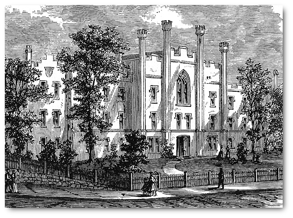 The New York Institution for the Blind circa 1868
