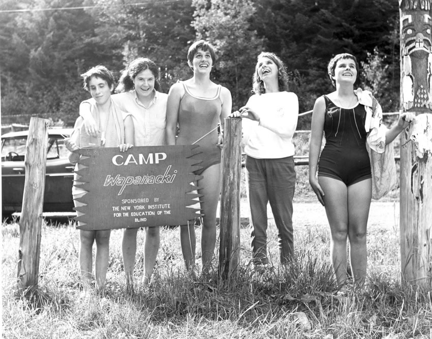 Camp Wapanacki was the first camp for the visually impaired in the United States. It opened in 1938 and was operated by the Institute for over 50 years.