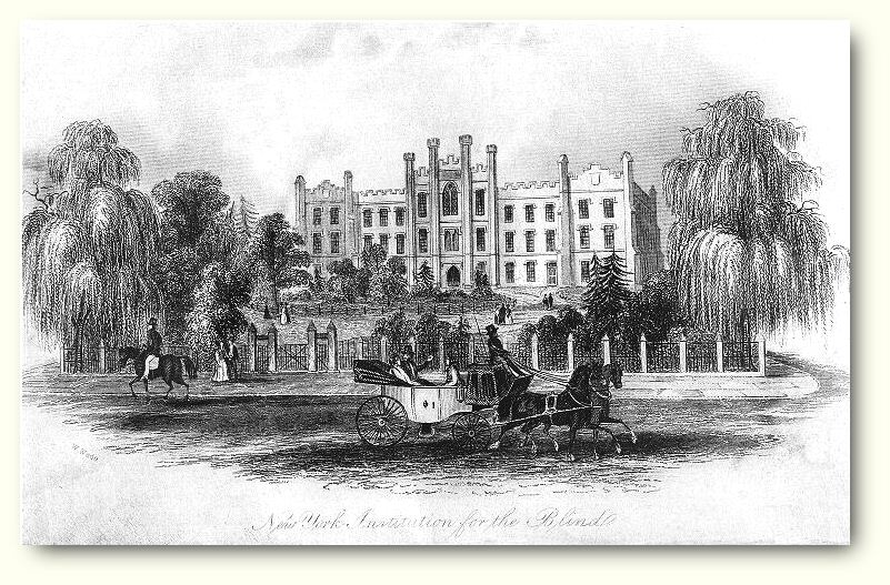 Early view of the school circa 1840